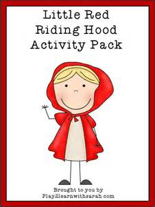 red riding hood activities amp free printables love thyme