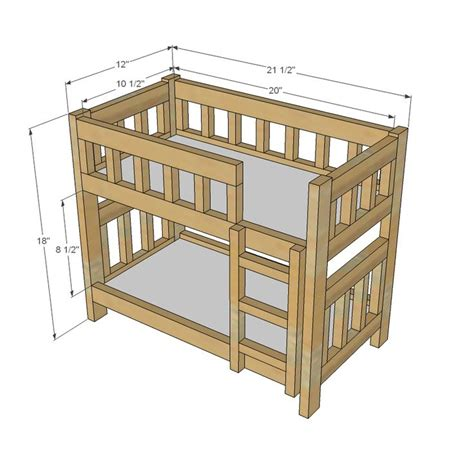 american girl doll furniture plans 25 best ideas about american girl beds on pinterest
