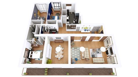 13 awesome 3d house plan ideas that give a stylish new 3d plan home images 13 awesome 3d house plan ideas that