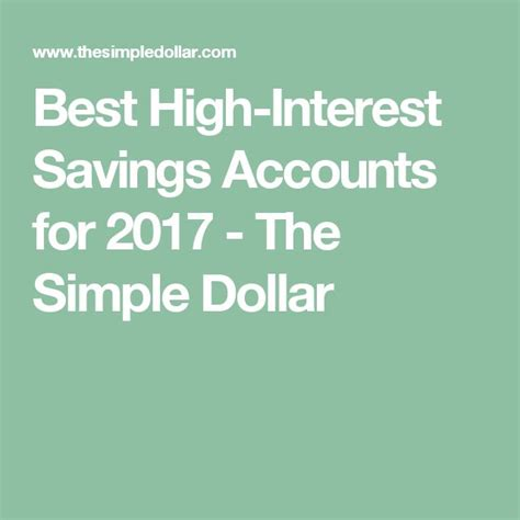 best savings accounts 25 best ideas about savings accounts on