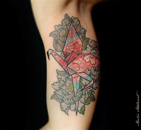 tattoo paper in stores 10 pretty paper crane tattoos tattoodo