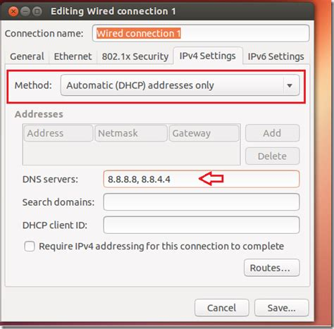 configure ubuntu server as dns ubuntu dns nord price