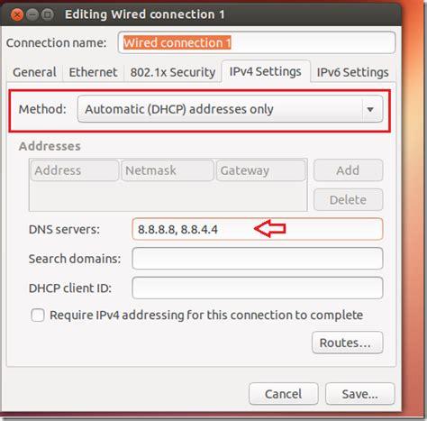 setup ubuntu server as dns ubuntu dns nord price