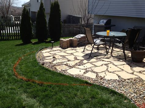 gravel for backyard exterior design outdoor furniture with stone and gravel