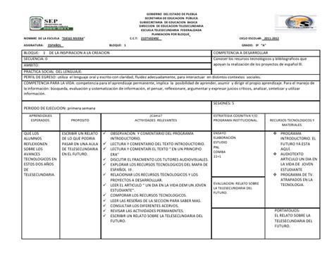 planeaciones cuarto grado bloque 1 primer bimestre ciclo escolar 2014 bloque 1 tercer grado