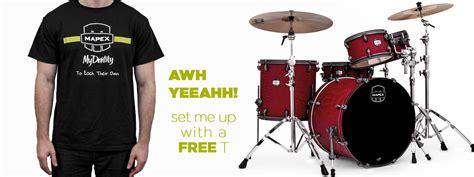 Tshirt Mapex mapex drums mapex their mydentity drummers t