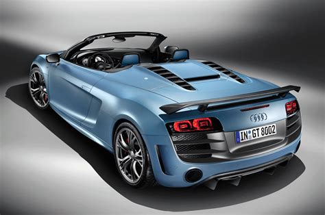 audi rs8 spyder 2012 audi r8 gt spyder is officially launched