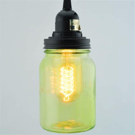 lime green pendant light light lime green glass jar pendant light kit wide