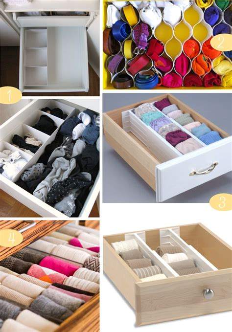 How To Store Socks In Drawers by Best 25 Sock Drawer Organizing Ideas On