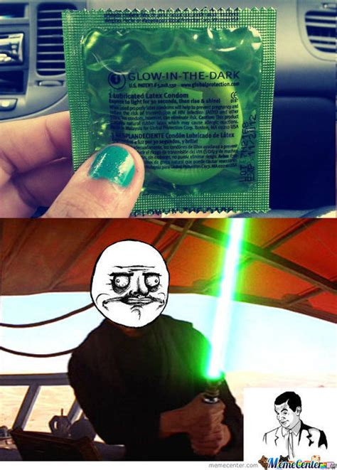 Glow In The Dark Condom Meme - meme center doisyfan96 likes page 9