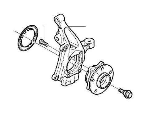 front wheel hub genuine volvo part