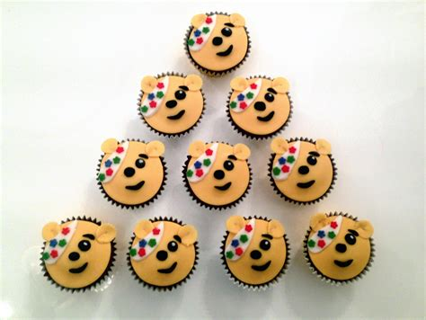 Christmas Party Children - children in need pudsey cupcakes the fondant fancy