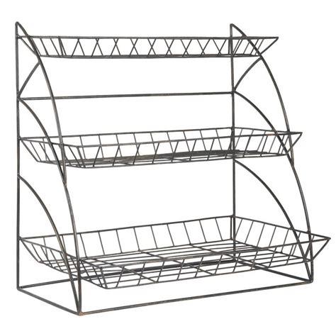 etagere ib laursen etagere a poser rangement cuisine metal grillage deco