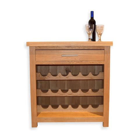 Wine Rack Storage by Wine Rack 18 Bottles Wood Wooden Solid Oak With Storage Uk