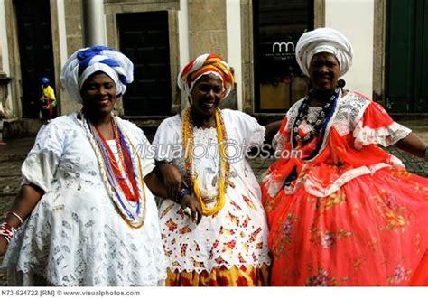brazil traditional in traditional dress salvador da bahia brazil