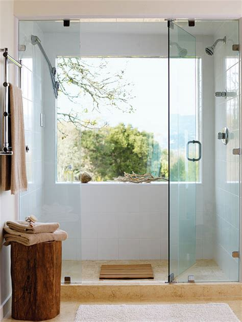 bathroom showers with windows house tweaking