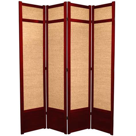 7 Ft Rosewood 4 Panel Room Divider 84jute Rwd 4p The 7ft Room Divider
