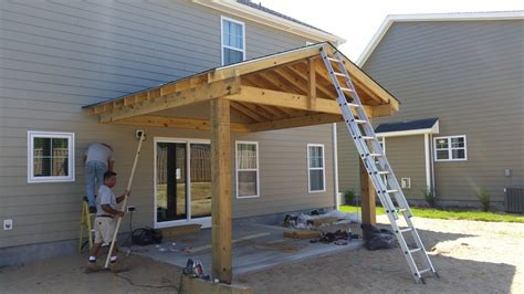 Covered Patio Construction by Covered Patio Construction Wilmington Nc