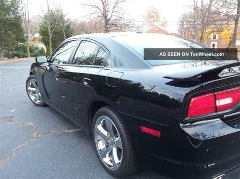 2012 dodge charger sxt sedan 4 door 3 6l