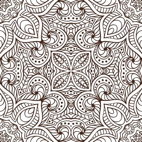 ottoman motifs indian seamless floral pattern vintage decorative