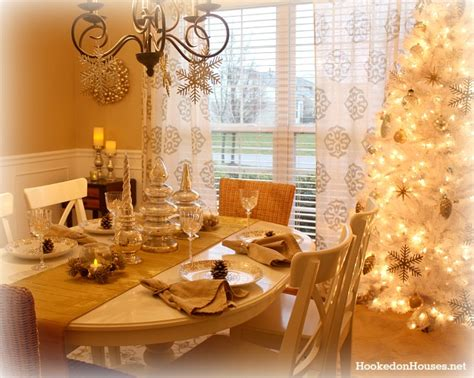 gold dining room my silver gold dining room decorated for christmas