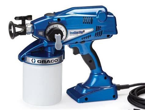 graco truecoat pro  ii handheld paint sprayer