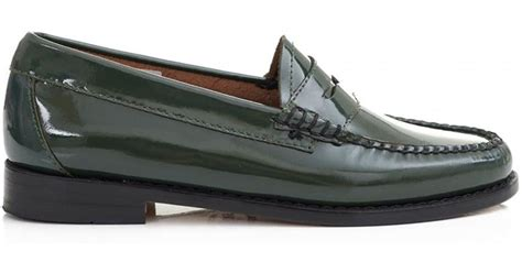 gh bass loafers uk g h bass co wheel patent leather loafers for