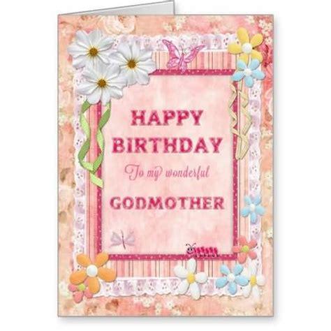 Godmother Cards Birthday Wonderful E Card Birthday Wishes For My Godmother
