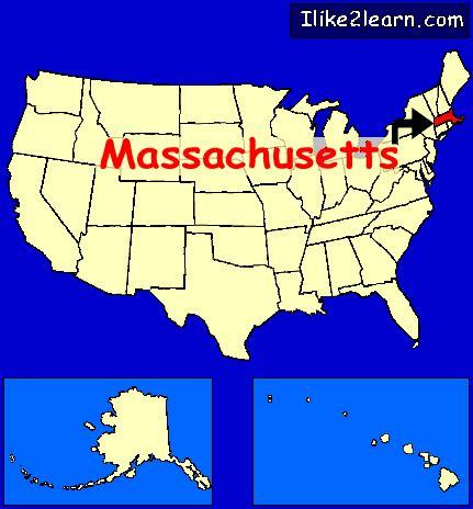 map usa massachusett massachusetts