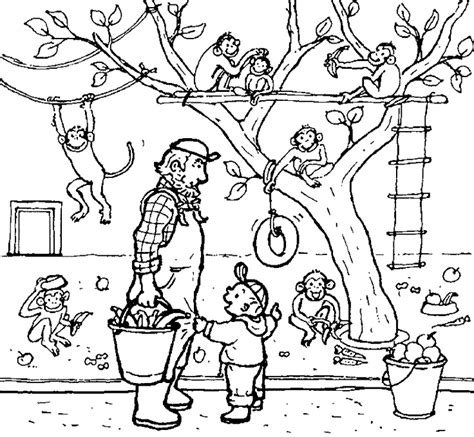 zoo background coloring page 30 best thema dieren dierentuin images on pinterest