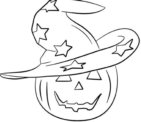 free coloring pages witches hat head pumpkin and witch hat coloring pages halloween