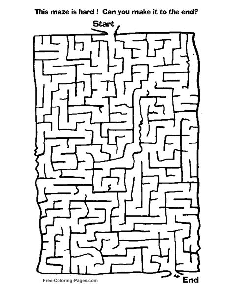 printable games for kids maze games for kids 46