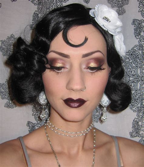 the 25 best ideas about 1920s makeup on pinterest glitter is my crack 1920 s flapper makeup costume look
