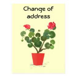 change of address card template new address template postcards new address template