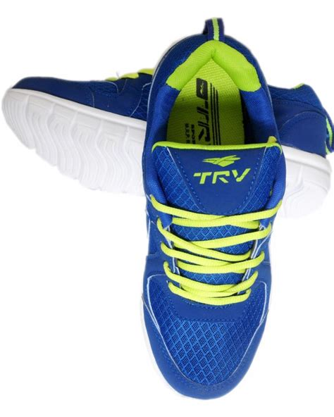 trv sports shoes trv blue sports shoes for mens buy from shopclues