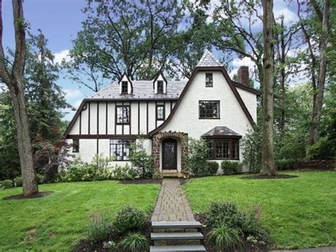 tudor homes images  pinterest cottages