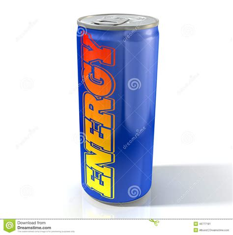 energy drink can energy drink can stock illustration image 46777181
