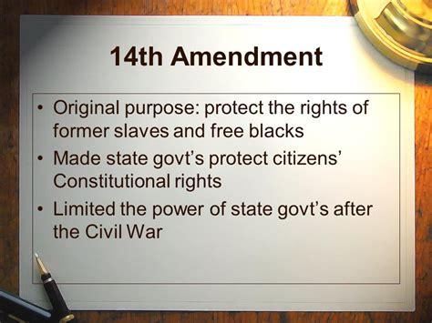 14th Amendment Essay by The 14th Amendment Essay