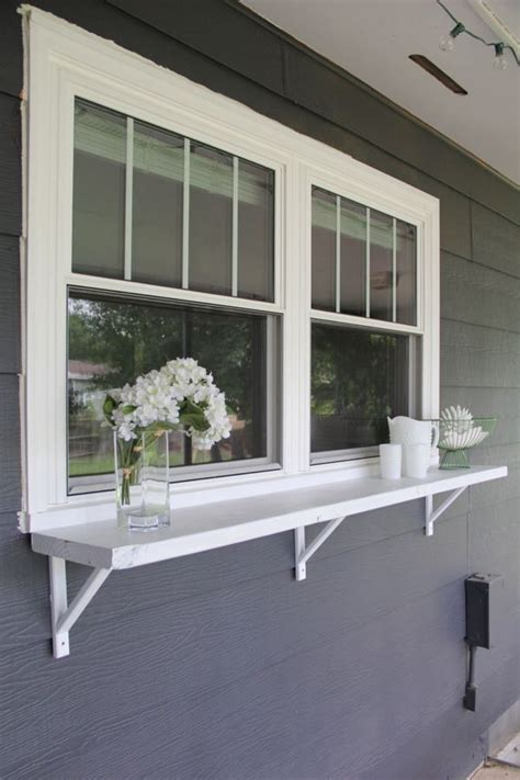 Outdoor Window Ledge Best 20 Kitchen Window Bar Ideas On