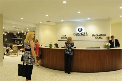 A Virtual Tour Of An International Furniture Showroom Front Desk