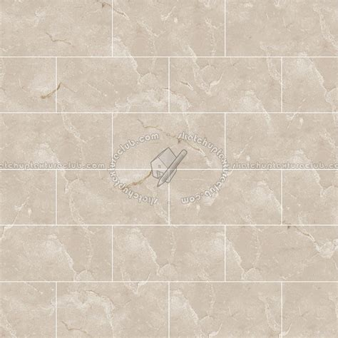 Botticino classic marble tile texture seamless 14266