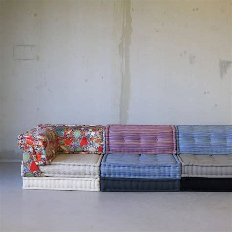 mahjong sofa mah jong modular sofa group by roche bobois at 1stdibs