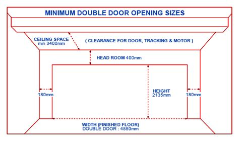 double garage dimensions double doors double doors dimensions