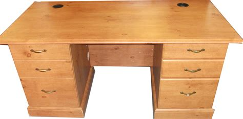 French Gardens Executive Desk In Oak Or Odessa Pine Home Pine Desk