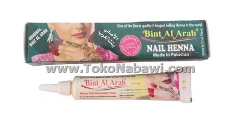 Pacar Rani Kuku Original Arab Saudi pacar bint al arab oleh oleh haji