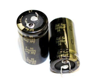 panasonic kg capacitor nichicon kg 5600uf 56v gold tune electrolytic capacitor kg nichicon capacitor analog metric