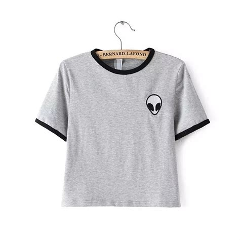 comfortable t shirts for women 3d print design aliens t shirts women short sleeve tee