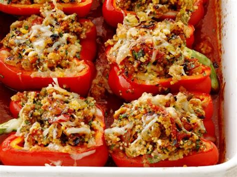 ragu stuffed peppers recipe food network kitchen food