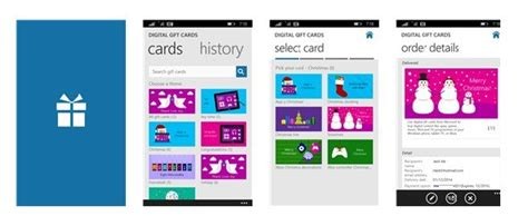 Send Digital Gift Card - send digital gift cards for xbox and windows stores with this new app