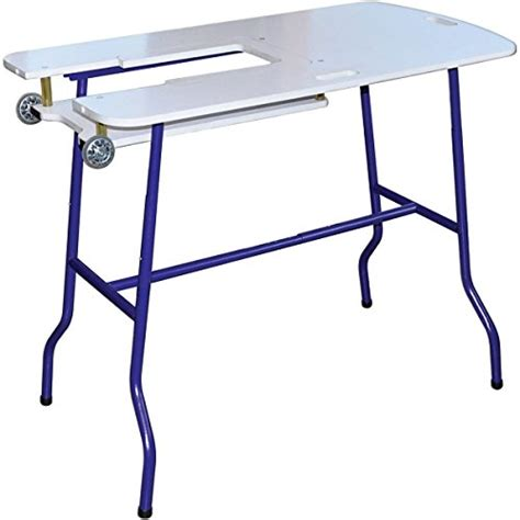 sullivans sew go adjustable height foldable sewing table